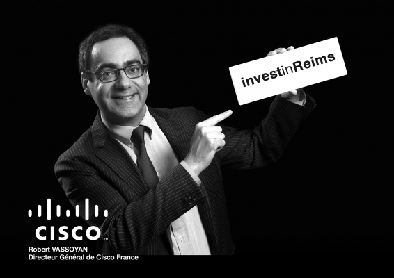 Invest'in Reims Cisco Robert Vassoyan DG