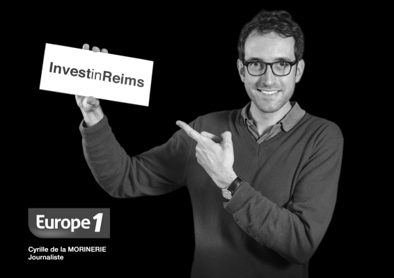 Investinreims-Europe1-Cyrille-DelaMorinerie-Journaliste